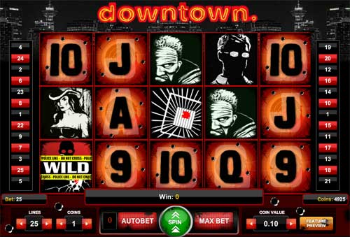 Downtown free slot