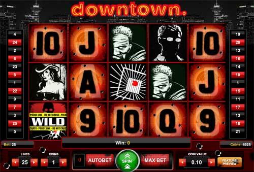Downtown free slot