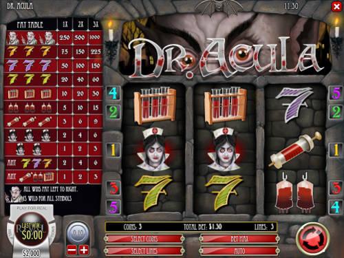 Dr Acula free slot