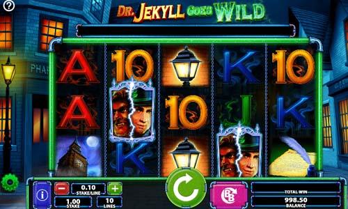Dr Jekyll Goes Wild free slot
