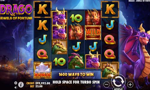 Drago Jewels of Fortune free slot