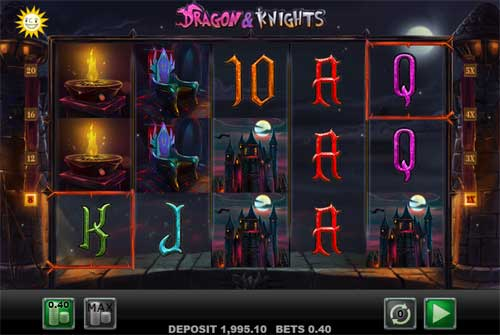 Dragon and Knights free slot