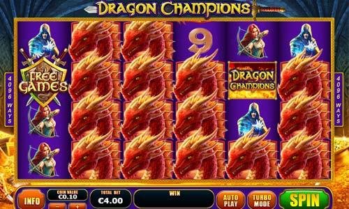 Dragon Champions free slot