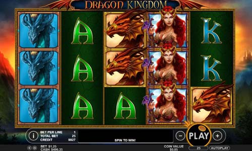 Dragon Kingdom free slot