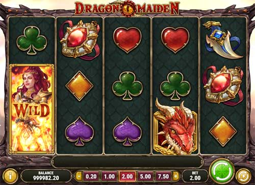 Dragon Maidenexpanding reels slot