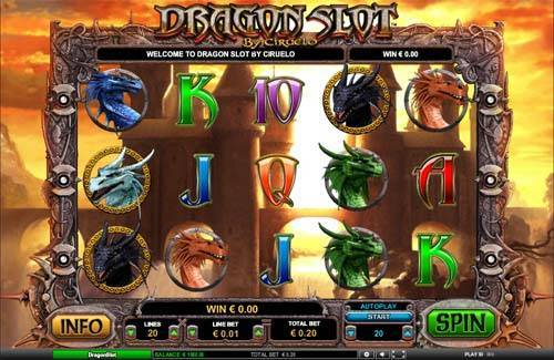 Dragon Slot casino slot