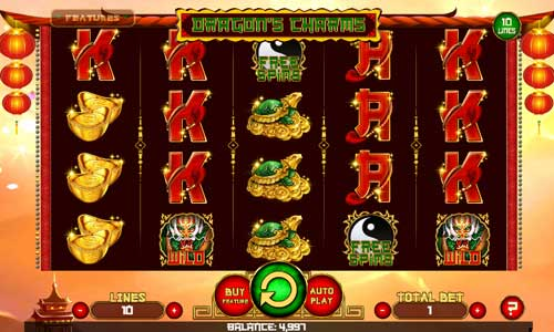 Dragons Charmsbuy feature slot