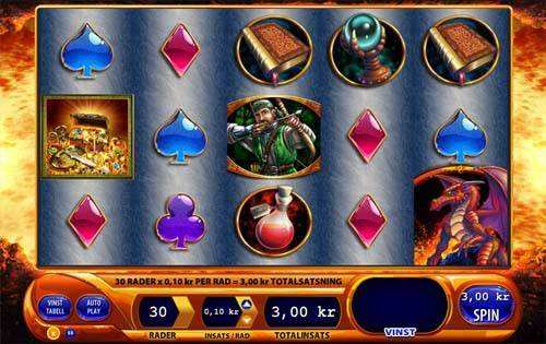 Dragons Inferno free slot