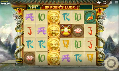 Dragons Luck Megawayscolossal symbols slot