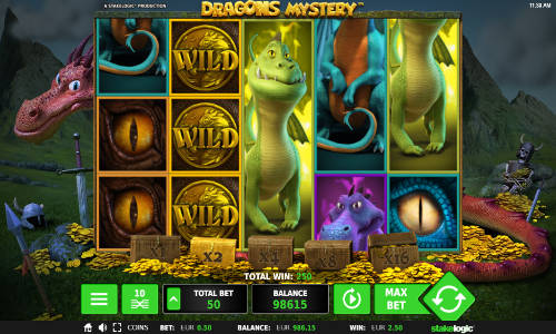 Dragons Mysterywin both ways slot
