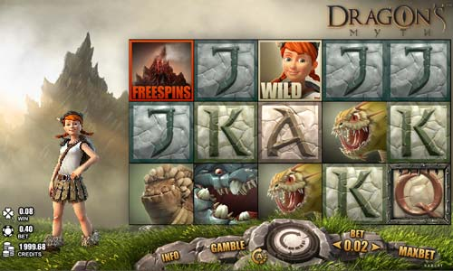 Dragons Myth casino slot