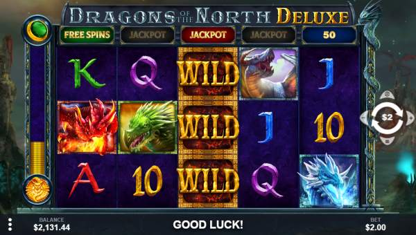 Dragons of the North Deluxe free slot