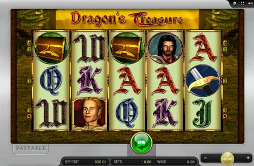 Dragons Treasure free slot