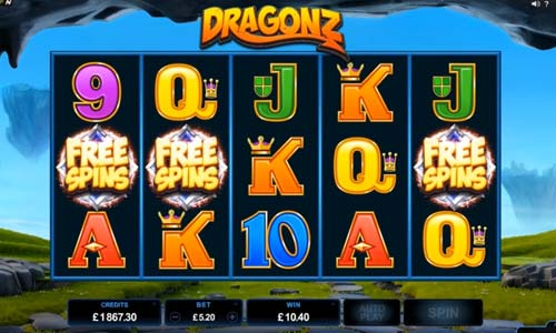 Dragonz free slot