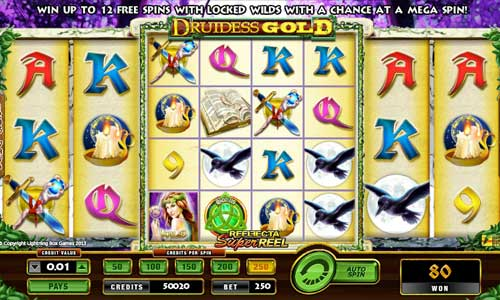 Druidess Gold free slot