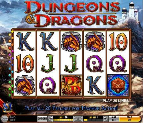 Dungeons and Dragons free slot