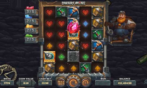 Dwarf Mine free slot