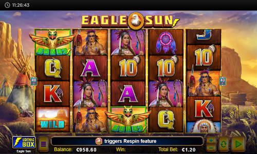 Eagle Sun free slot