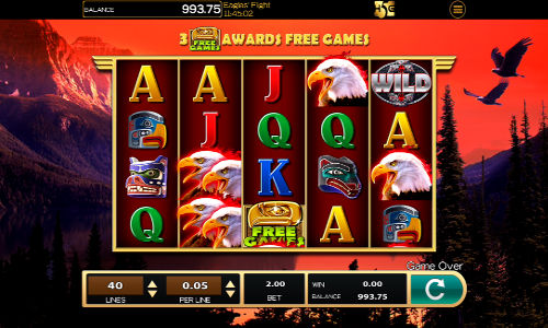 Eagles Flight free slot