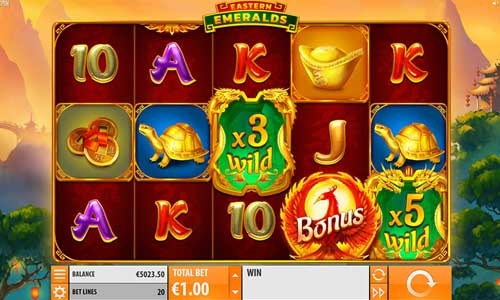 Eastern Emeralds casino slot