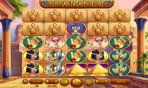Egyptian Dreams Deluxe free slot