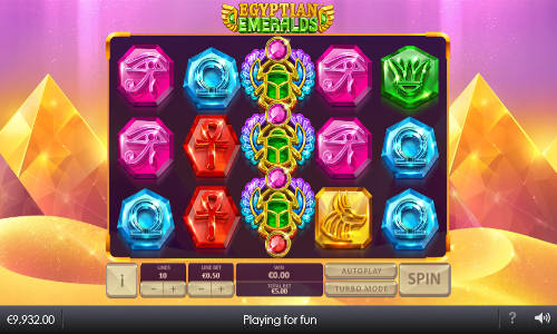 Egyptian Emeralds free slot