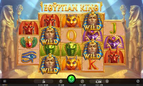 Egyptian Kingsticky wilds slot