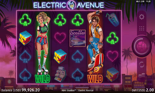 Electric Avenue free slot