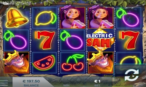 Electric Sam casino slot