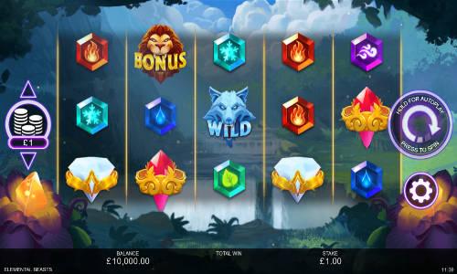 Elemental Beasts free slot