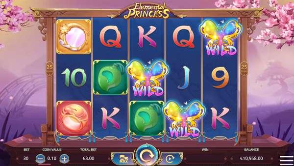 Elemental Princess free slot