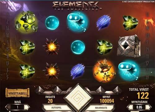 Elements free slot