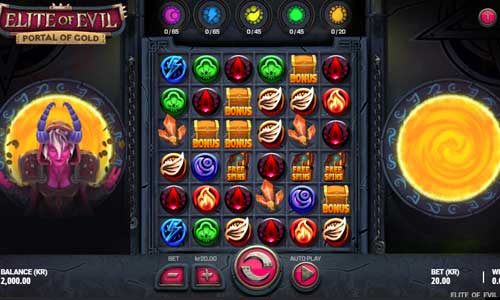 Elite of Evil Portal of Gold casino slot