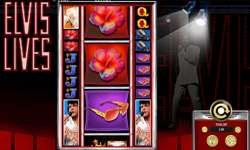 Elvis Livescolossal symbols slot