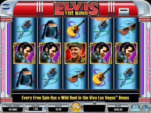 Elvis The King free slot