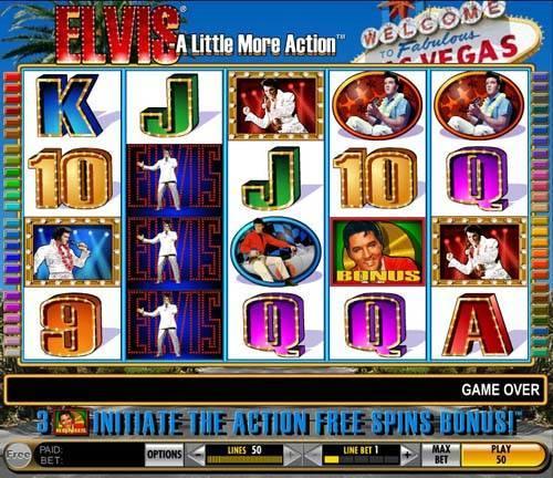 Elvis - A Little More Action