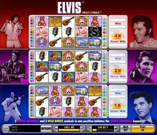 Elvis - Multistrike free slot