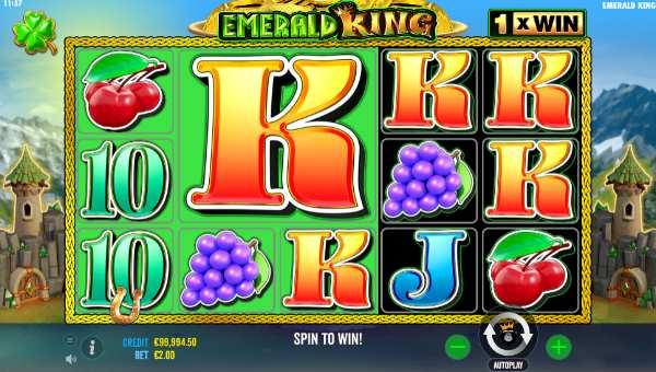 Emerald King free slot