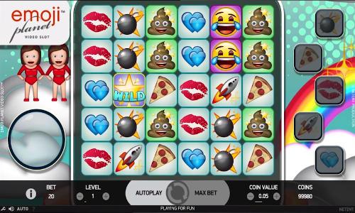 Emojiplanet free slot