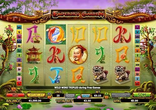 Emperors Garden free slot