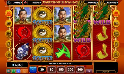 Emperors Palace new slot