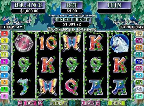 Enchanted Garden free slot