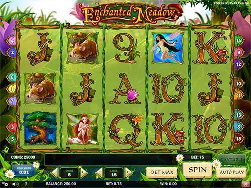 Enchanted Meadow free slot