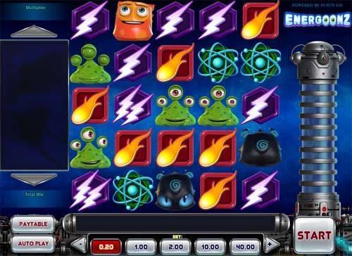 Energoonz free slot