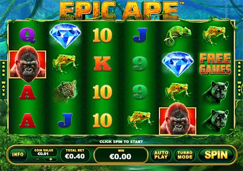Epic Ape free slot