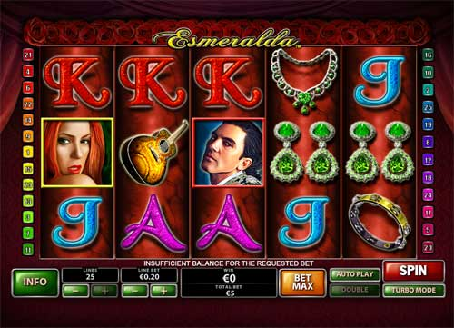 Esmeralda free slot