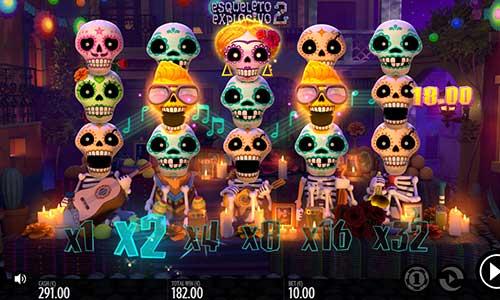Esqueleto Explosivo 2 free slot