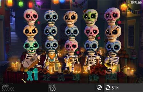 Esqueleto Explosivo free slot
