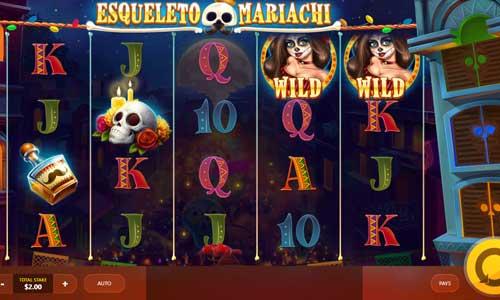 Esqueleto Mariachi casino slot