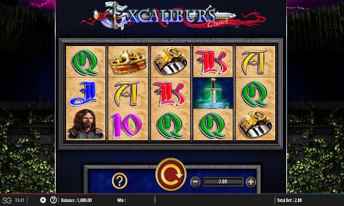 Excaliburs Choice free slot